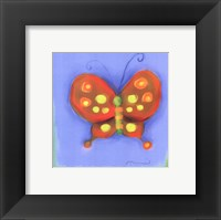 Framed New Butterfly