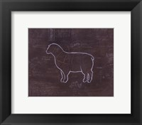 Framed Lamb