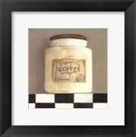 Framed Coffee Jar