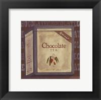 Framed Chocolate Tea