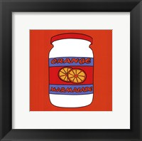 Framed Orange Marmalade