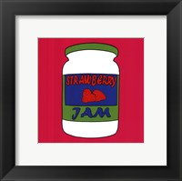Framed Strawberry Jam