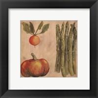 Framed Asparagus Radish