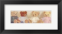 Framed Four Bears sitting