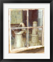 Framed Window With Pitcher
