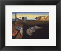 The Persistence of Memory, c.1931 Framed Print