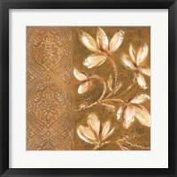 Framed Bukara Paisley I