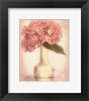 Framed Lovely Hydrangea