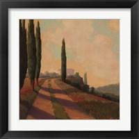 Framed Tuscan Path I
