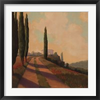 Framed Tuscan Path I
