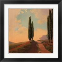 Framed Tuscan Path II