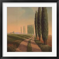 Framed Tuscan Path III