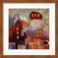 Framed City Houses I