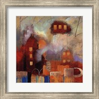 Framed City Houses I