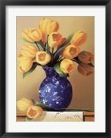 Framed Yellow Tulips