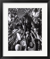 Framed Jfk Campaign, 1960