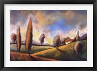 Framed Tuscan Shadows II