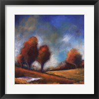 Tuscan Shadows IV Framed Print