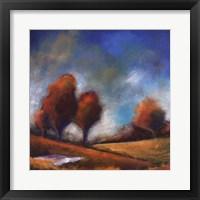 Framed Tuscan Shadows IV
