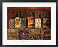 Framed Ricard