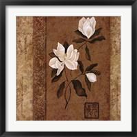 Framed Magnolia Stripe II