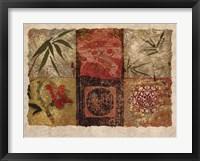Framed Oriental Medley I