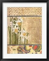 Framed Canteiro De Flores I
