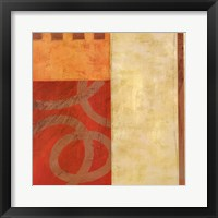 Divisions II Framed Print