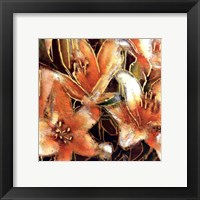 Framed Apricot Dreams II