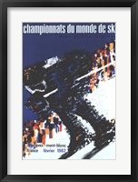 Framed Chamonix World Championships