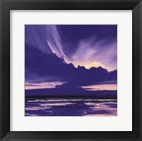 Framed Blue Night I