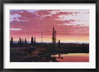Framed Northern Sunset