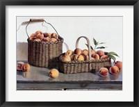 Framed Summer Peaches