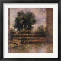Framed Serene Landscape
