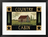 Framed Country Cabin