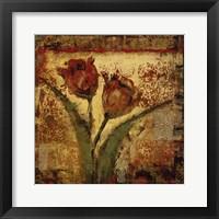 Framed Floral Song V