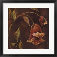 Framed Flowers and Leaves II