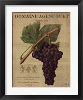 Domaine Agencourt Framed Print