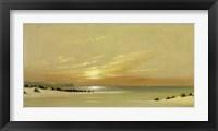 Framed Distant Shores II