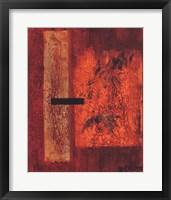 Framed Orange Or