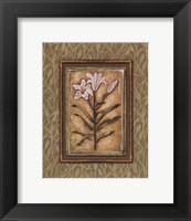 Peaceful Flowers II - Mini Framed Print