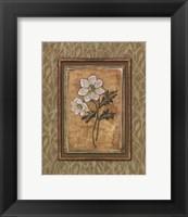 Peaceful Flowers III - Mini Framed Print