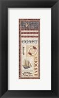 Coastal I - Mini Framed Print