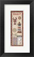 Coastal II - Mini Framed Print
