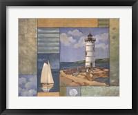 Framed Lighthouse Collage II