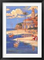Framed Beach Club II
