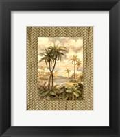 Cabana Bay I - Mini Framed Print