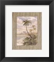 Framed Cabana Bay II - Mini