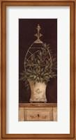 Framed Olive Topiary II - Mini