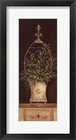 Framed Olive Topiary II - Mini